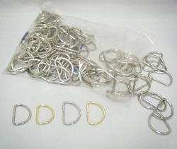CX50 D-Rings, 100pcs