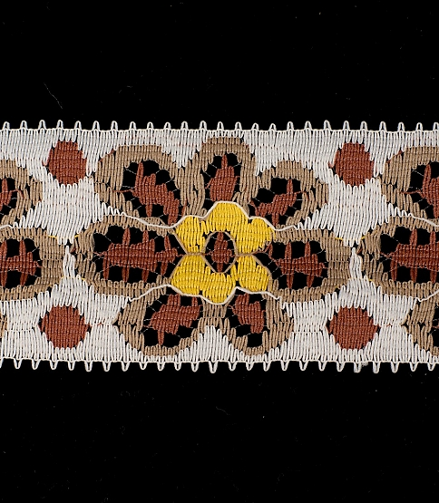 White & Brown Lace, 50m