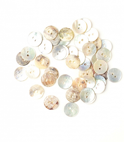 16L Shell Buttons, 100pcs