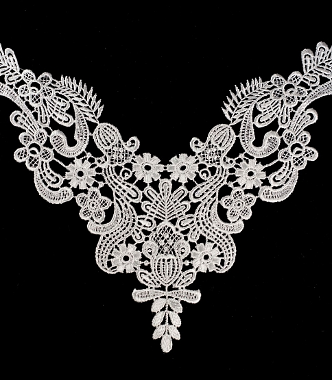 Ivory Lace Applique