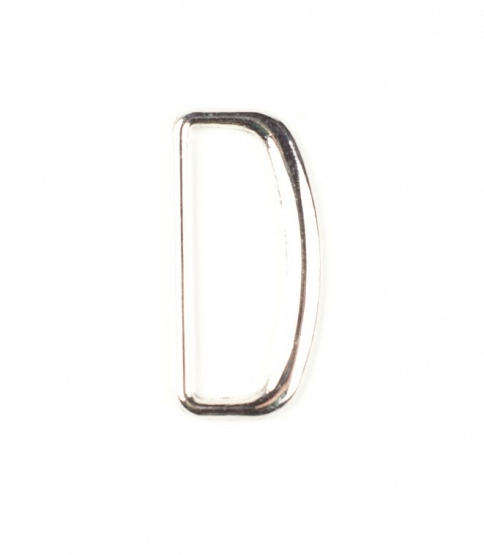 30mm Nickel D-Rings, 100pcs