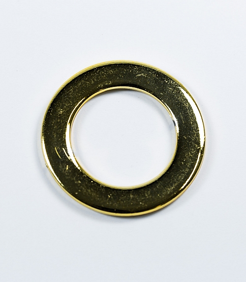 32mm Round Gold Ring