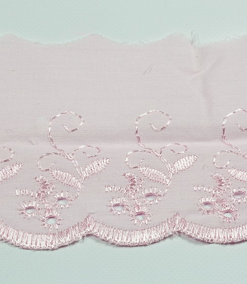 Baby Pink Broderie Anglaise, 54.8m