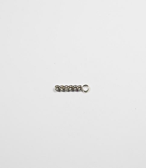 Diamante Zipper Pulls, 10pcs