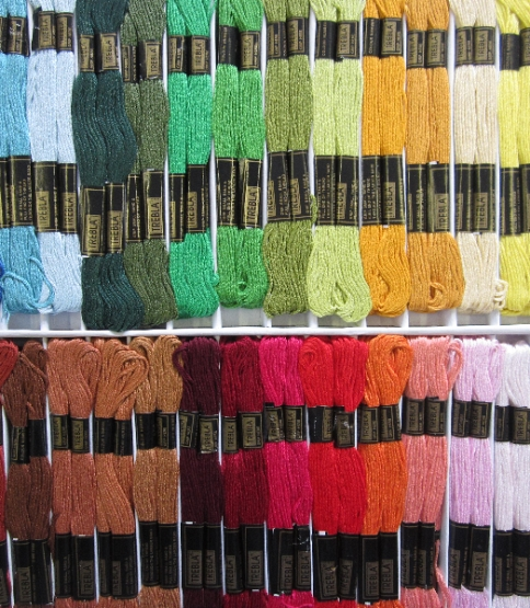 Embroidery Thread Asstd