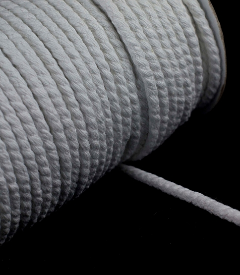White Piping Cord