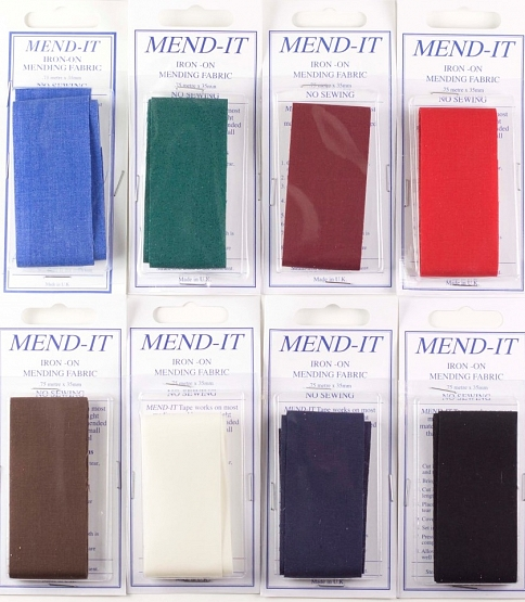 Carded Mend-it Tape, 10pcs