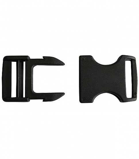 2 Hook Side Release Buckles, 10pcs