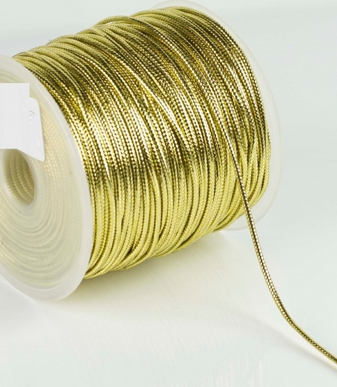 Metallic Cord (1mm-2mm), 100m