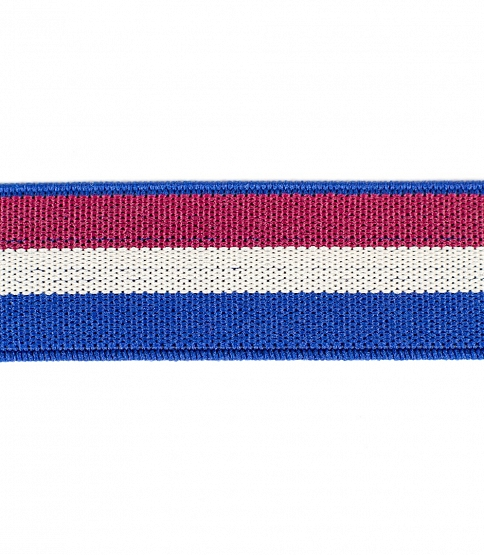 Striped Elastic, 25m
