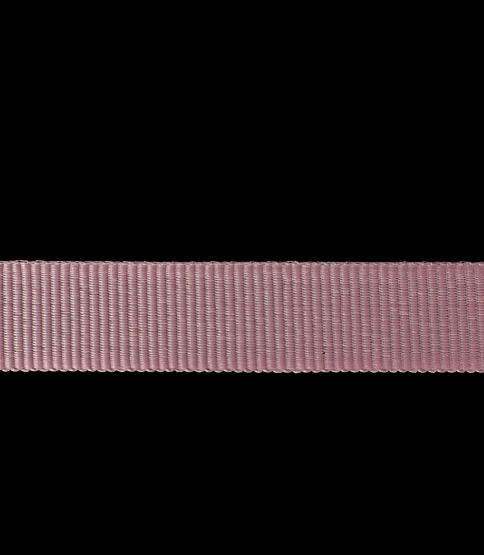 17mm Light Pink Grosgrain, 50m