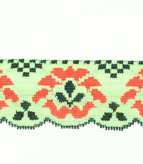 Green Retro Lace, 50m